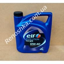 Масло моторное ELF 10W40 EVOLUTION 700 STI ( 4л ) полусинтетика, 4 литра!