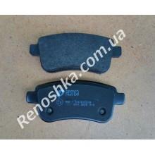Колодки задние ( комплект, 4 штуки ) на машину с электронным стояночным тормозом.