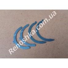 Полукольца коленвала ( дистанционная шайба осевого смещения коленвала ) комлект 4 шт