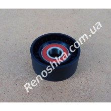 Ролик ручейкового ремня ( 65mm x 30mm ) пластиковый