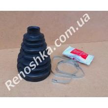 Пыльник ШРУСа ( со стороны колеса ) 33mm x 110mm ( пыльник + хомуты + смазка ) на R16!