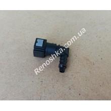 Штуцер топливного фильтра, шланга, переходник топливной трубки, быстросъемный ( угловой, 90 градусов ) 8mm!