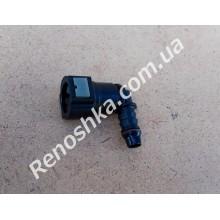 Штуцер топливного фильтра, шланга, переходник топливной трубки, быстросъемный ( угловой, 90 градусов ) 10mm!