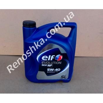 Масло моторное ELF 5W40 EVOLUTION 900 NF ( 5л ) синтетика, 5 литров! для RENAULT LOGAN
