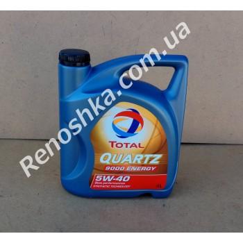 Масло моторное TOTAL 5W40 ENERGY 9000 ( 4л ) синтетика, 4 литра! для RENAULT LOGAN