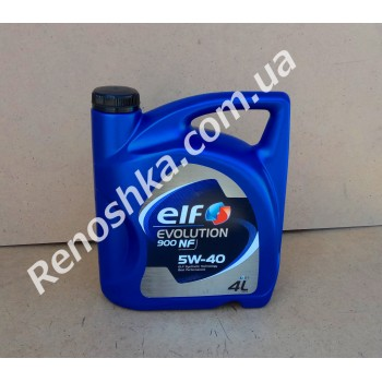 Масло моторное ELF 5W40 EVOLUTION 900 NF ( 4л ) синтетика, 4 литра! для RENAULT LOGAN 1.5 DCI 68 л.с.