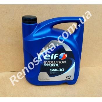 Масло моторное ELF 5W30 EVOLUTION 900 SXR ( 5л ) синтетика, 5 литров! для RENAULT LOGAN