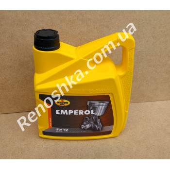 Масло моторное KROON OIL 5W40 EMPEROL ( 4л ) синтетика, 4 литра! для RENAULT LOGAN