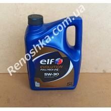 Масло моторное ELF 5W30 EVOLUTION FULL-TECH FE ( 5л ) синтетика, 5 литров! для RENAULT LOGAN