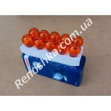 Лампочка поворотника PY21W ( однонитевая ) оранжевая, смещенные усики! для RENAULT LOGAN 1.5 DCI 68 л.с.