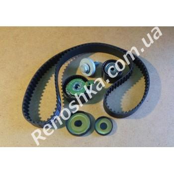 Комплект ГРМ ( ремень + ролики + болт коленвала + заглушки блока ) для RENAULT LOGAN