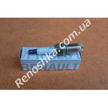 Свеча зажигания ( комплект, 4 свечи ) ГАЗ/ БЕНЗИН, два лепестка! для RENAULT LOGAN 1.6 16v K4M 690 105 л.с.