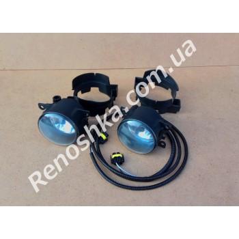 Комплект противотуманных фар ( противотуманки + проводка + крепления ) для RENAULT LOGAN