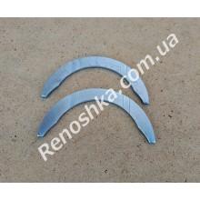 Полукольца коленвала ( дистанционная шайба осевого смещения коленвала ) ремонтная +0.10mm, комплект 2 шт для RENAULT LOGAN