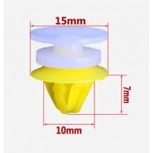 Клипса для крепления обшивки салона ( пистон обшивки салона, карт дверей ) 10mm, цена за 1 штуку. для RENAULT LOGAN