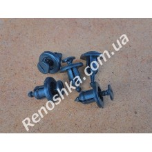 Клипса для крепления обшивки капота ( пистон капота ) цена за 1 штуку. для RENAULT LOGAN 1.6 K7M 710 87 л.с.