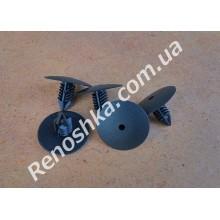 Клипса для крепления подкрыльников ( пистон подкрыльника ) цена за 1 штуку. для RENAULT LOGAN 1.6 K7M 710 87 л.с.