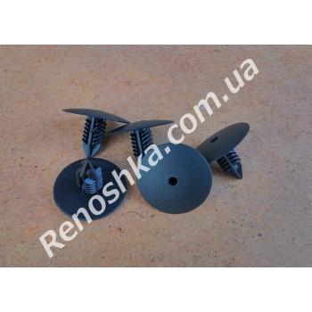 Клипса для крепления подкрыльников ( пистон подкрыльника ) цена за 1 штуку. для RENAULT LOGAN