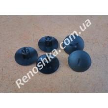 Клипса для крепления обшивки салона ( пистон обшивки и крепления брызговиков, отверстие 6mm ) цена за 1 штуку. для RENAULT LOGAN