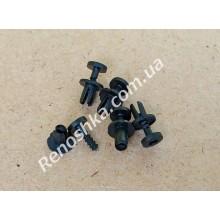 Клипса для крепления обшивки капота, решетки радиатора, крепления бампера ( 6 mm ), цена за 1 штуку. для RENAULT LOGAN 1.2 16v D4F 732 75 л.с.