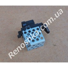 Резистор вентилятора радиатора ( датчик включения вентилятора ) на машины после 2008 года, с защелкой сбоку! для RENAULT LOGAN