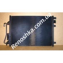 Радиатор кондиционера ( на машину до 2008 года! ) для RENAULT LOGAN 1.6 16v K4M 690 105 л.с.