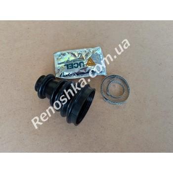Пыльник ШРУСа наружны ( со стороны колеса ) 28mm x 87mm ( пыльник + хомуты + смазка ) для RENAULT LOGAN