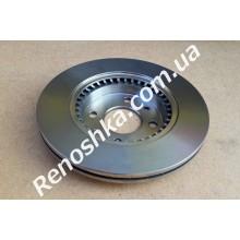 Тормозной диск передний ( 259mm x 20.6mm ) вентилируемый! цена за 1 шт! для RENAULT LOGAN