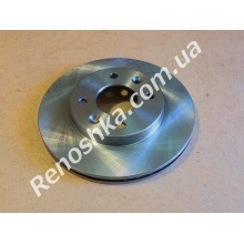 Тормозной диск передний ( 238mm x 20mm ) вентилируемый! цена за 1 шт!