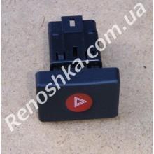 Кнопка аварийной сигнализации ( на машины до 2008 года ) для RENAULT LOGAN 1.6 K7M 710 87 л.с.
