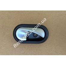 Ручка двери внутренняя ( справа ) серебристая! для RENAULT LOGAN