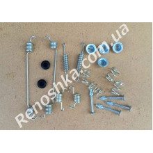 Ремкомплект задних тормозных колодок ( пружинки на барабанные колодки ) для RENAULT LOGAN 1.5 DCI 68 л.с.