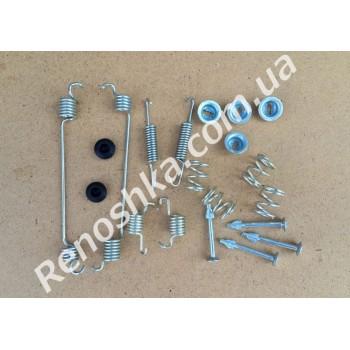 Ремкомплект задних тормозных колодок ( пружинки на барабанные колодки ) для RENAULT LOGAN