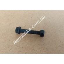 Фиксирующий болт пальца шаровой опоры к цапфе ( 56mm x 10mm x резьба 1.25mm ) с гайкой! для RENAULT LOGAN 1.2 16v D4F 732 75 л.с.