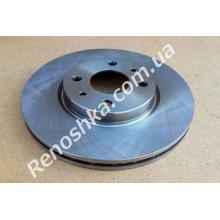 Тормозной диск передний ( 257mm x 22mm ) вентилируемый! цена за 1 шт!