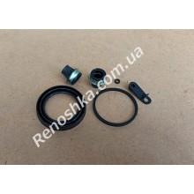 Ремкомплект переднего суппорта ( пыльник на поршень суппорта + резиновое кольцо + пыльники на направляющие суппорта )