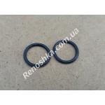 Прокладка радиатора печки, уплотнительное кольцо радиатора печки, прокладка отопителя салона ( комплект 2 колечка )