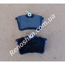 Колодки задние ( комплект, 4 штуки ) для PEUGEOT