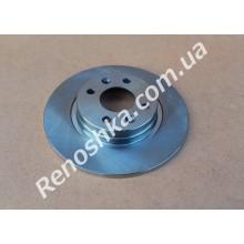 Тормозной диск передний ( 259mm x 12mm ) невентилируемый! цена за 1 шт! для RENAULT LOGAN