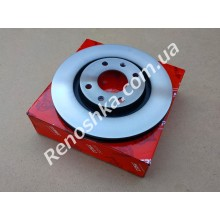 Тормозной диск передний ( 266mm x 22mm ) вентилируемый! цена за 1 шт!