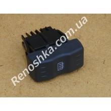 Кнопка обогрева заднего стекла ( 4 контакта ) для RENAULT LOGAN 1.4 K7J 710 75 л.с.