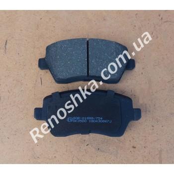 Колодки передние ( комплект 4шт ) для RENAULT LOGAN