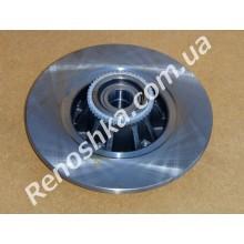 Тормозной диск задний ( 280mm x 12mm ) с подшипником + кольцо ABS!