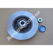 Тормозной диск задний ( 240mm x 8mm ) с подшипником ступицы + магнитная лента ABS!