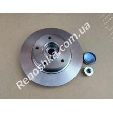 Тормозной диск задний ( 260mm x 8mm ) с встроенным подшипником ступицы с магнитной лентой ABS!