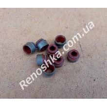 Сальники клапанов ( 1 упаковка - 8 шт ) для RENAULT LOGAN