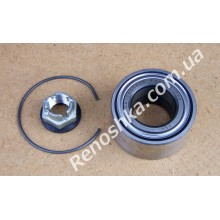Подшипник ступицы передний ( 72 x 37 x 37 ) комплект, без ABS! для RENAULT LOGAN
