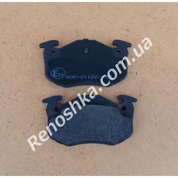 Колодки задние ( комплект, 4 штуки ) на дисковые тормоза!