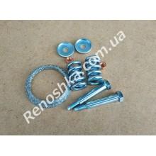 Монтажный комплект приемной трубы ( кольцо 60 мм + пружинки + болты + шайбы )