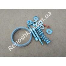 Монтажный комплект приемной трубы ( кольцо 79 мм + пружинки + болты + шайбы )
